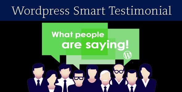 Wordpress Smart Testimonial Carousel - CodeCanyon Item for Sale