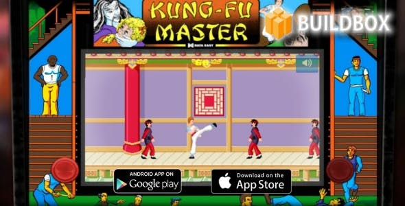 Kung-Fu Master Tribute - Buildbox 2 Template Game