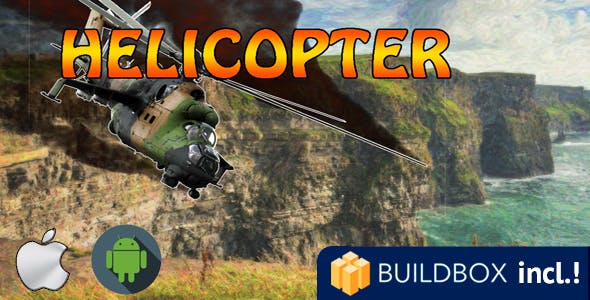 Helicopter Buildbox for IOS and Android