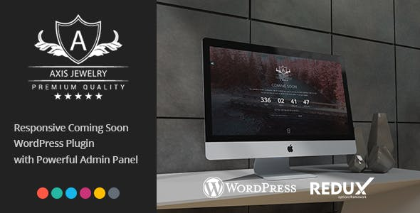 Axis - Responsive Coming Soon WordPress Plugin