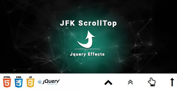 JFK ScrollTop - jQuery Effects
