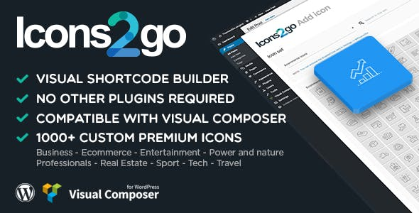 Icons2go - Icon font WordPress Plugin