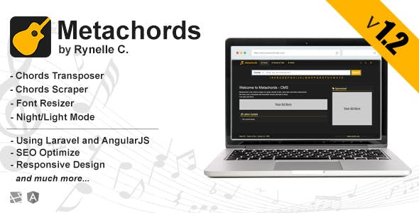 Metachords CMS : Chords & Tabs