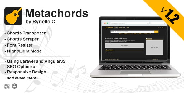 Metachords CMS : Chords & Tabs - CodeCanyon Item for Sale
