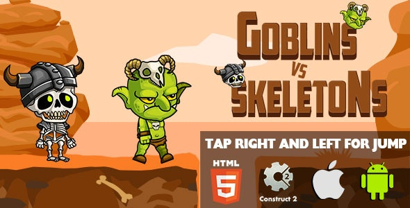 Goblins VS Skeletons - HTML5 Game (CAPX) - CodeCanyon Item for Sale