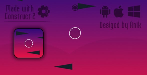Gravity Change - HTML5 Game (CAPX)