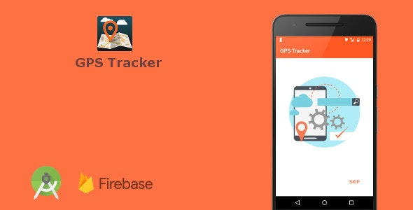 GPS Tracker (Android Studio + Firebase App) - CodeCanyon Item for Sale