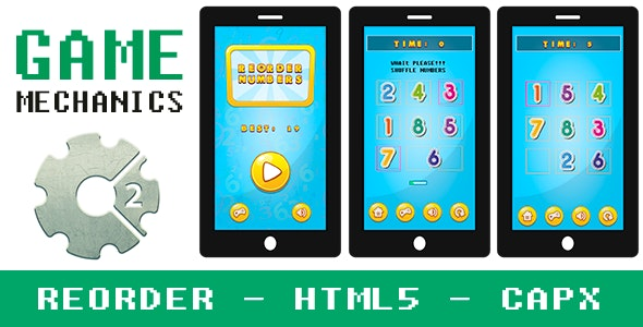 Reorder Puzzle Mechanics - CAPX - CodeCanyon Item for Sale