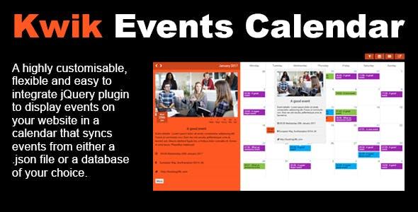 Kwik Event Calendar