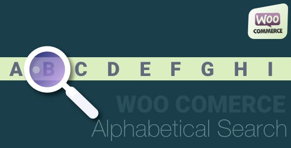 Woocommerce Alphabetical Search