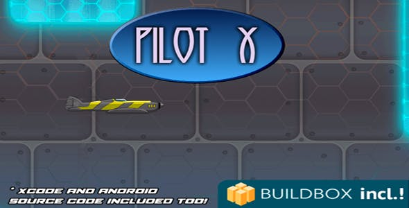 Pilot X Buildbox Android and IOS