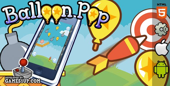 Balloon Pop - HTML5 CAPX Construct 2
