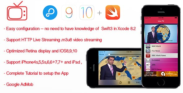 Live TV- Streaming TV for iPhone and iPad