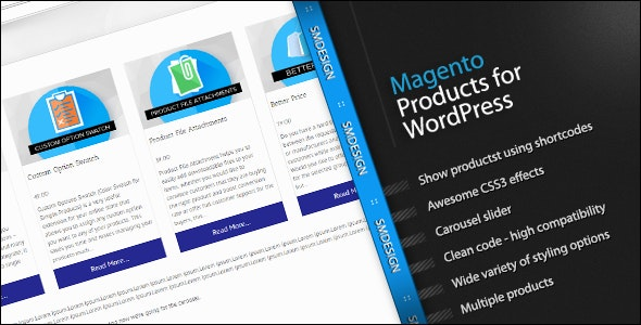 Magento Products for WordPress - CodeCanyon Item for Sale