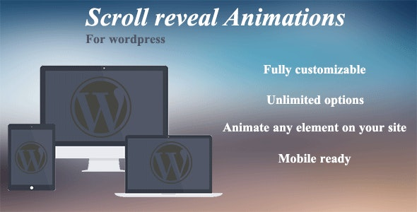 Scroll reveal animations - CodeCanyon Item for Sale