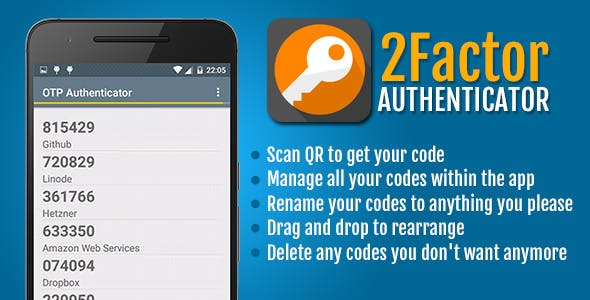2Factor Authenticator