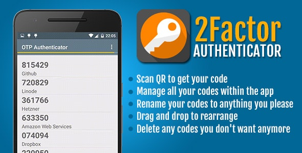 2Factor Authenticator - CodeCanyon Item for Sale