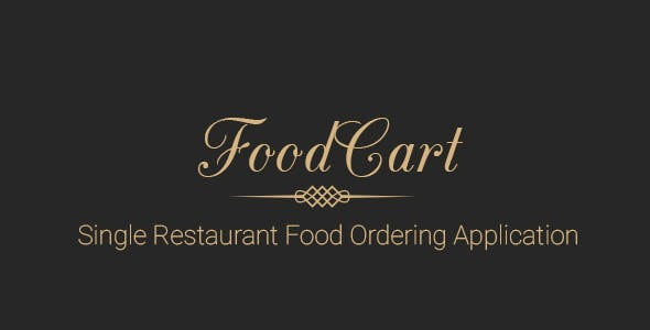 Food Cart - Restaurant food ordering system