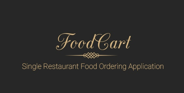 Food Cart - Restaurant food ordering system - CodeCanyon Item for Sale