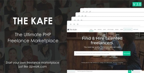 The Kafe - Ultimate Freelance Marketplace - CodeCanyon Item for Sale
