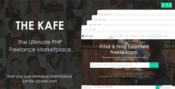 The Kafe - Ultimate Freelance Marketplace