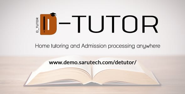 De-Tutor - Private Tutoring and Admission Processing