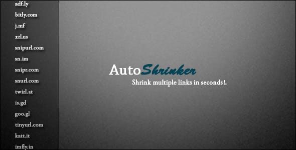 AutoShrinker - Automatically shrink multiple links