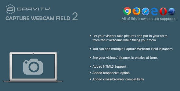 Gravity Forms Capture Webcam Field 2.2