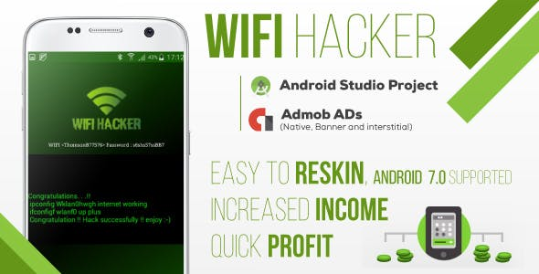 Make A Hacking App With Mobile App Template from CodeCanyon