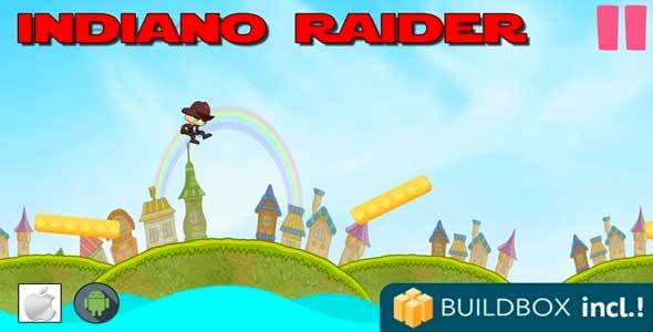 Indiano Raider Buildbox IOS Android