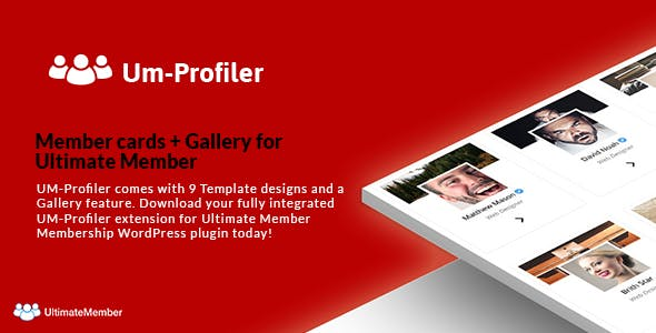 Member cards + Gallery Extention - Ultimate Member Community Plugin
