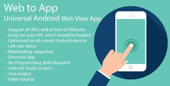 WebToApp | Universal Android Web View App - CodeCanyon Item for Sale