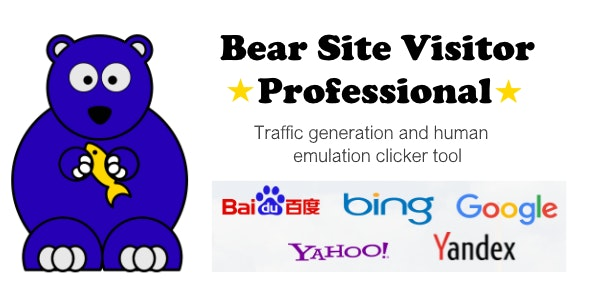 Bear Site Visitor Pro - Traffic generator tool - CodeCanyon Item for Sale