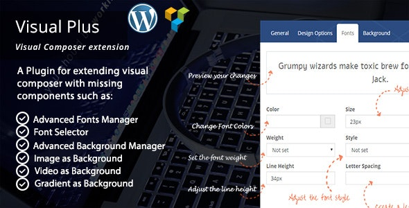 Visual Plus - WPBakery Page Builder Extension Pack - CodeCanyon Item for Sale