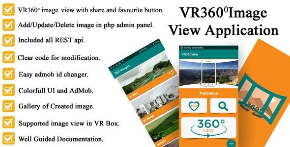 Android VR360view Application Full Source code With ADMOB And PHP Admin Panel