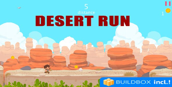 Desert Run Buildbox 2.1 IOS Android