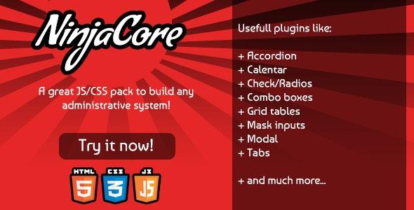 NinjaCore - JS/CSS Framework - CodeCanyon Item for Sale