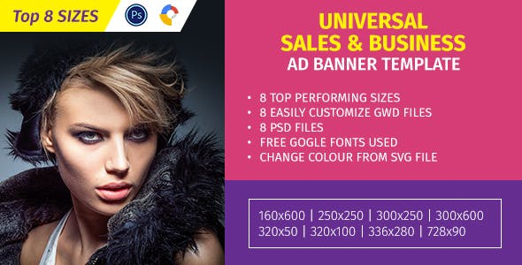 Universal Sales & Business Ad Template