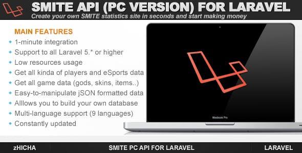 Smite PC API for Laravel