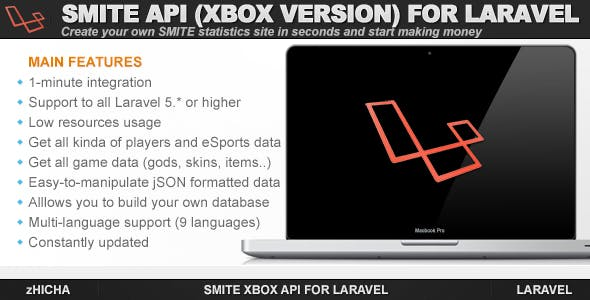 Smite XBOX API for Laravel