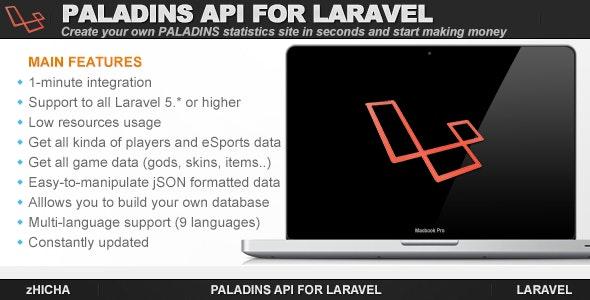 Paladins API for Laravel - CodeCanyon Item for Sale