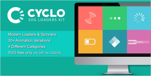 Cyclo - SVG Loaders Kit - CodeCanyon Item for Sale