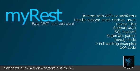 myRest - Easy REST client