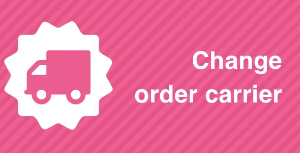 Change order carrier