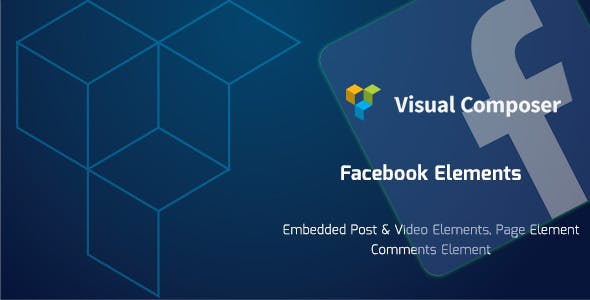 Facebook Elements for Visual Composer WordPress