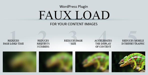 Faux Load - Progressive Image Loading WordPress plugin