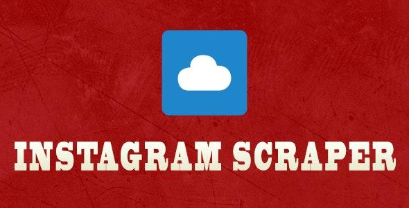 InstaScraper - Instagram User Data Scraper - CodeCanyon Item for Sale