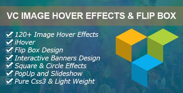 Image Hover Effects Addons for WPBakery Page Builder (formerly Visual Composer) - CodeCanyon Item for Sale