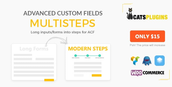 ACF Multistep - Turn Long Input Into Steps - CodeCanyon Item for Sale