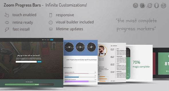 Zoom Progress Bars 2 - Infinite Progress Marker